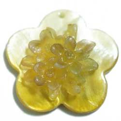 ペントップ シェル&樹脂 黄 2個セット