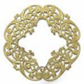 フィリグリー オープンフレーム 真鍮
