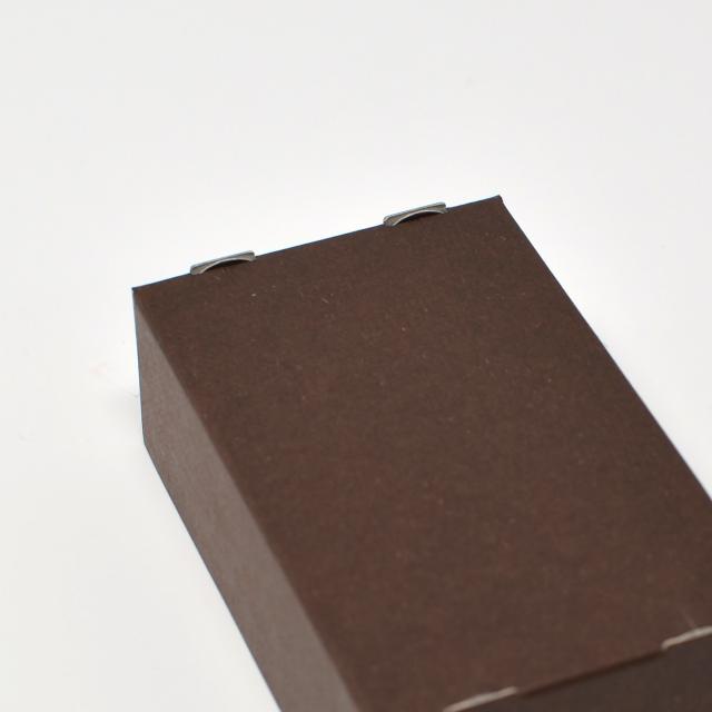 紙製名刺箱 茶