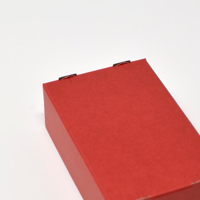 紙製名刺箱 赤