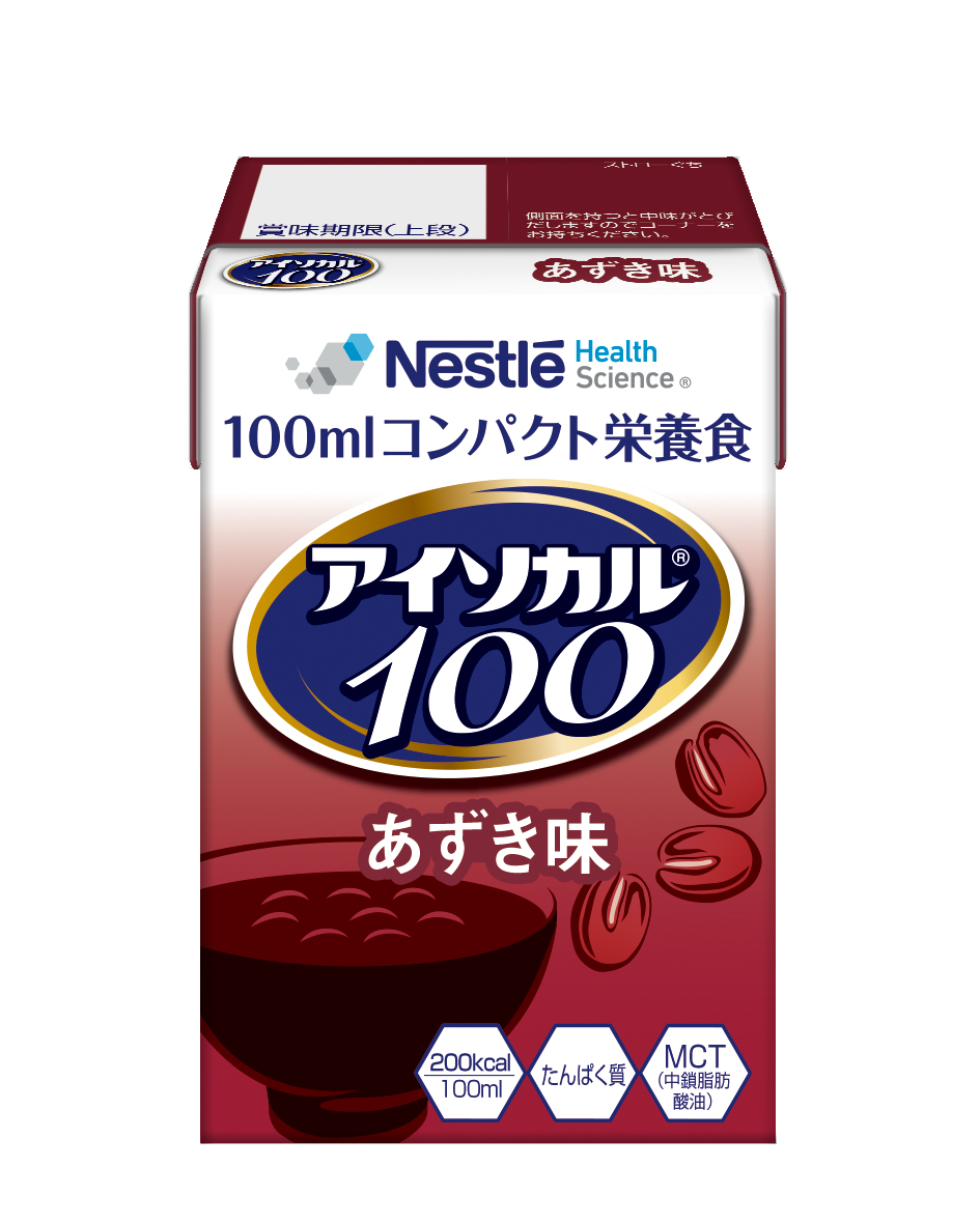 アイソカル100 あずき味 100ml
