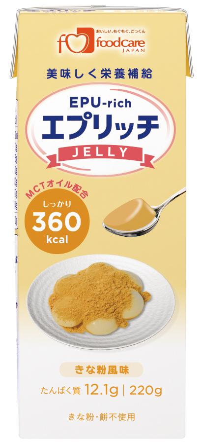 エプリッチゼリー きな粉風味 220g