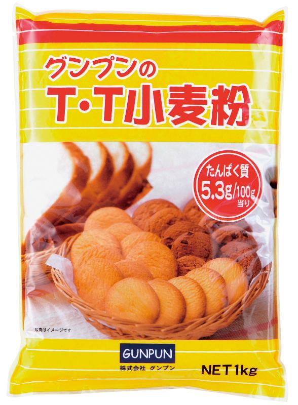 グンプンのT.T小麦粉 1kg