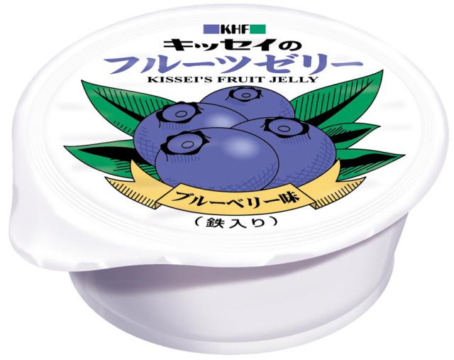 フルーツゼリー ブルーベリー味 65g×15