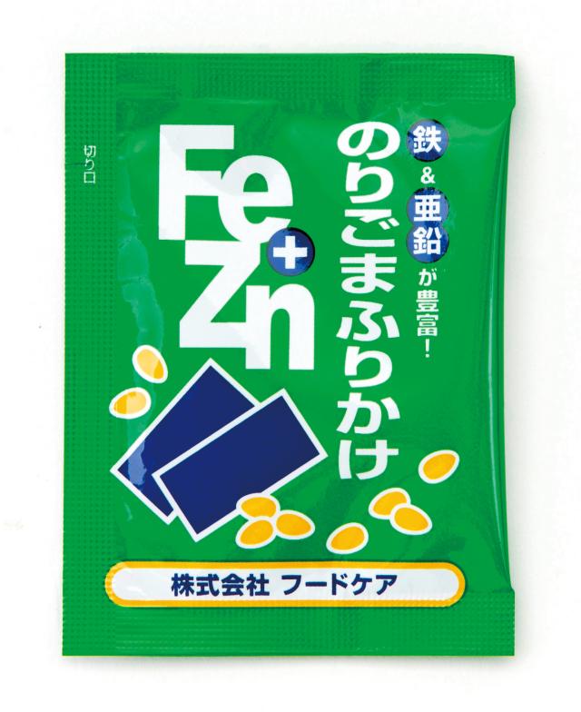 Fe+Znふりかけ袋  のりごま 3g×50