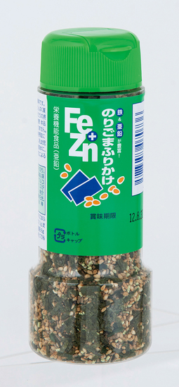 Fe+Znふりかけ(ボトル入) のりごま 90g