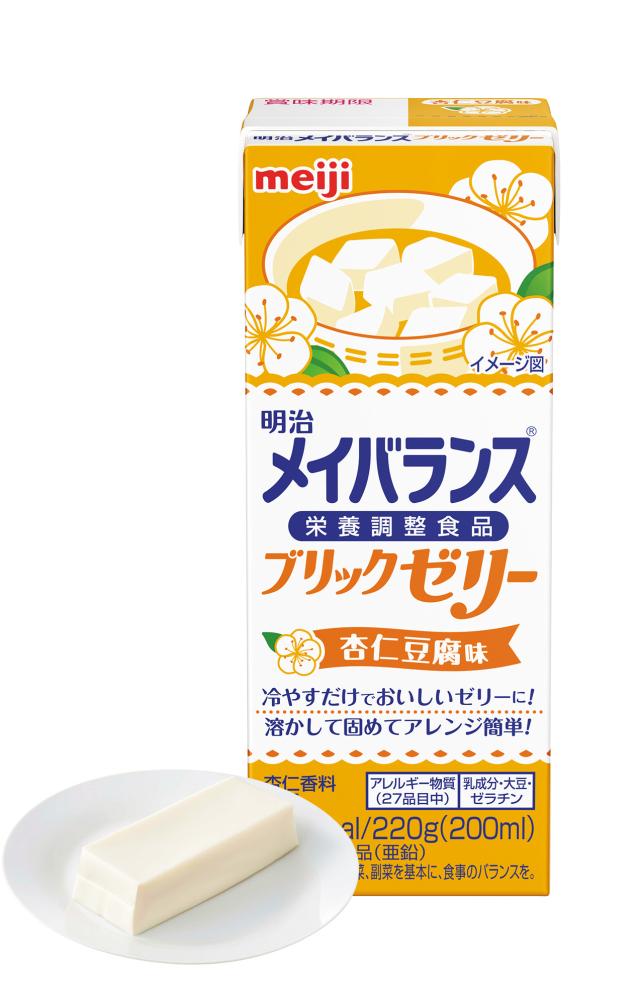 メイバランスブリックゼリー 杏仁豆腐味 220g×24