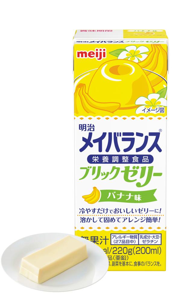 メイバランスブリックゼリー バナナ味 220g×24