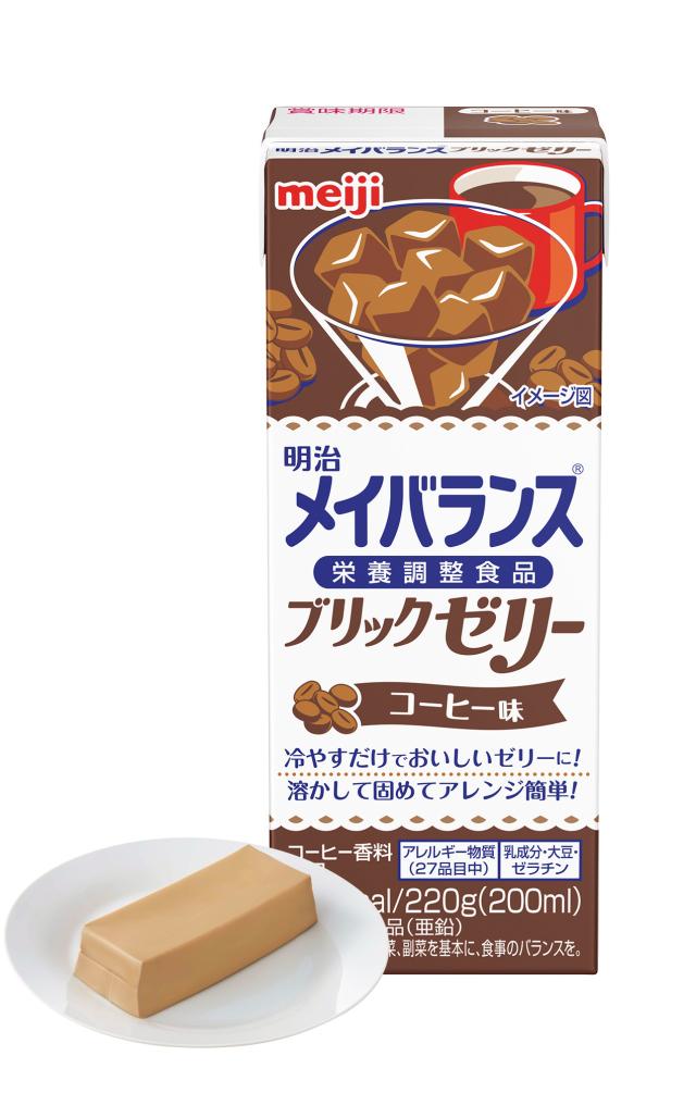 メイバランスブリックゼリー コーヒー味 220g×24