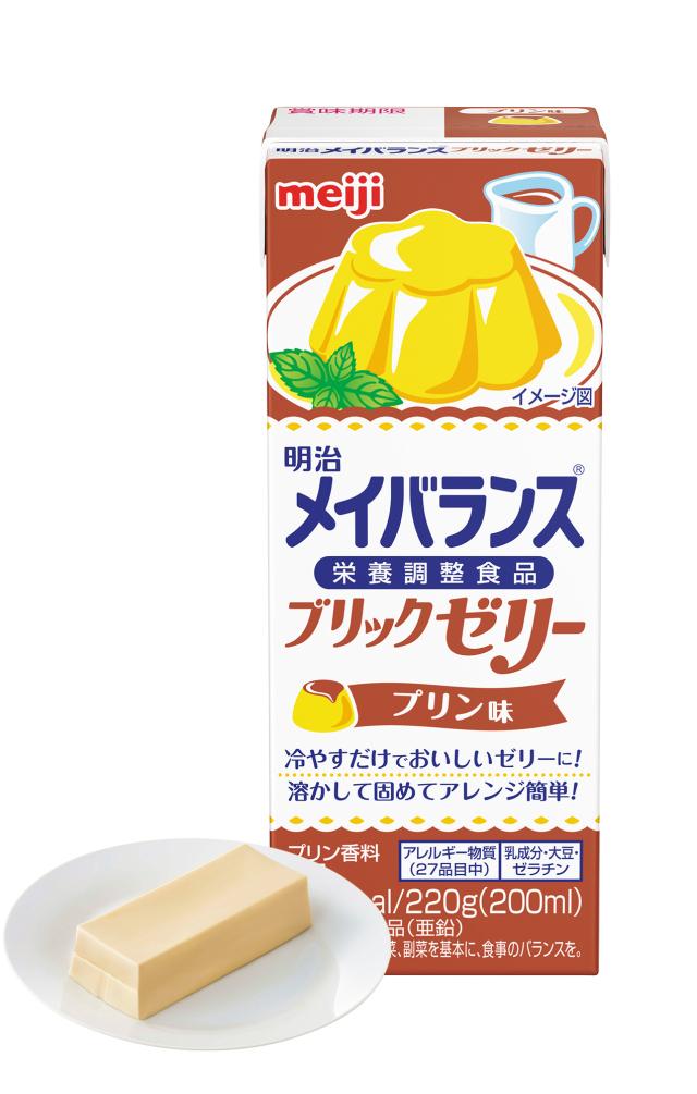 メイバランスブリックゼリー プリン味 220g×24