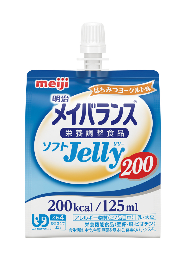 明治メイバランスソフトJelly200 はちみつヨーグルト味 125ml×24