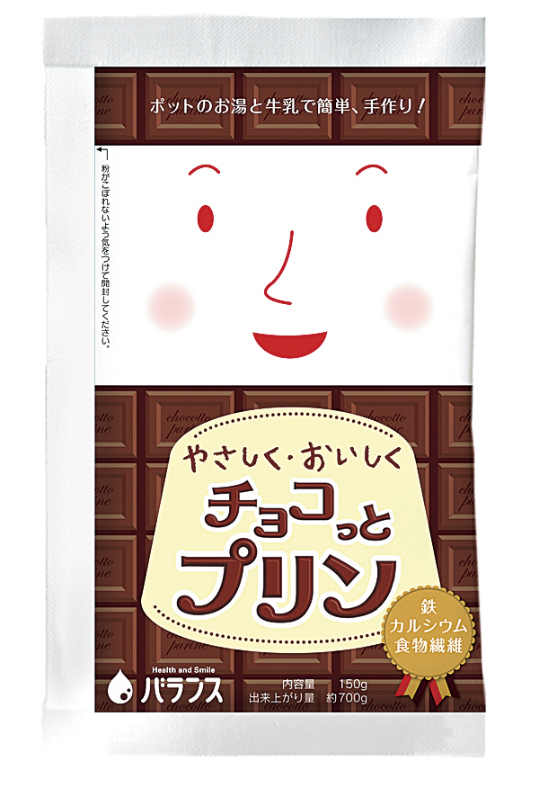 やさしくおいしくチョコっとプリン 150g