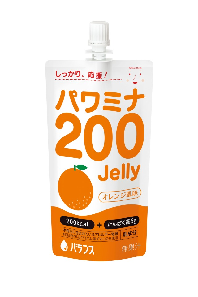 パワミナ200ゼリー オレンジ風味 120g×24