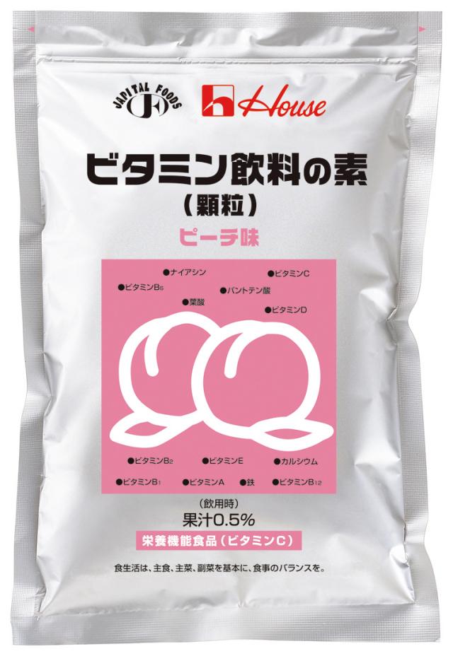 ビタミン飲料の素(顆粒) ピーチ 400g