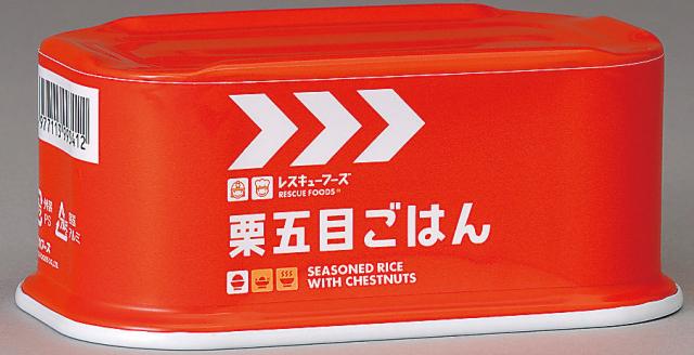 レスキュー栗五目ごはん(アルミ缶) 200g×24