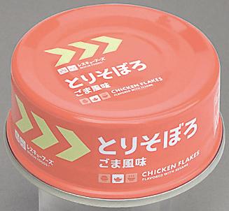 レスキュー とりそぼろ(アルミ缶) 70g×24