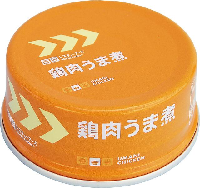 レスキュー鶏肉うま煮(アルミ缶) 70g×24
