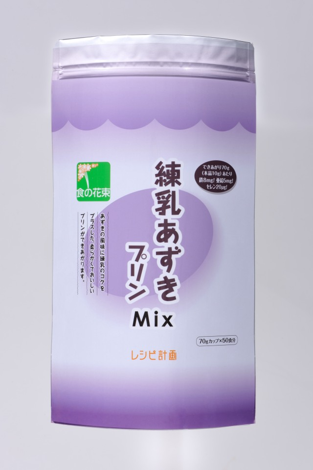 練乳あずきプリン Mix 500g