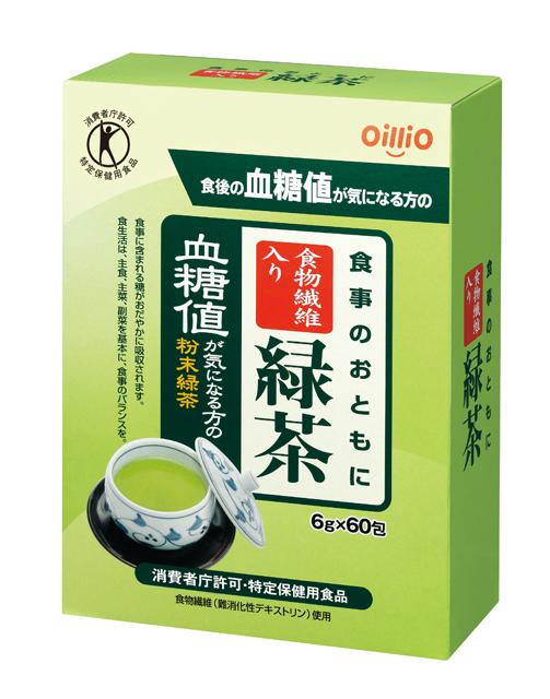食物繊維入り緑茶 6g×60
