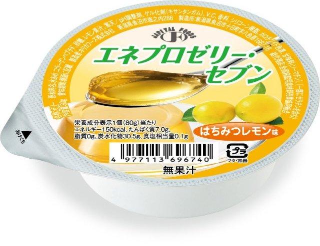 エネプロゼリーセブン ハチミツレモン 80g