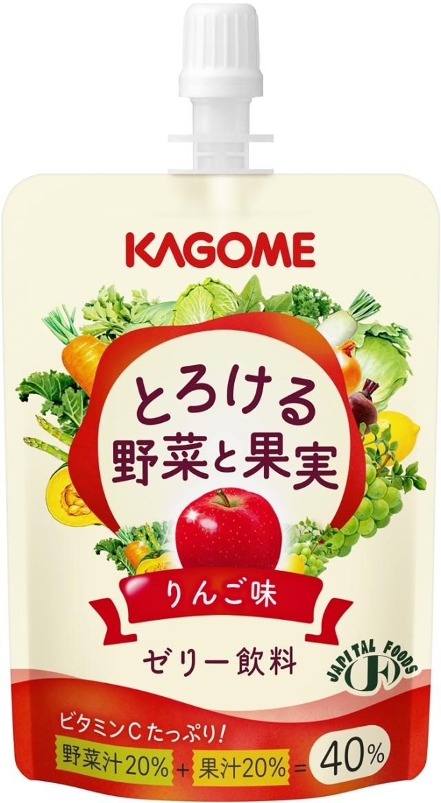 とろける野菜と果実 ゼリー飲料りんご味 80g×30