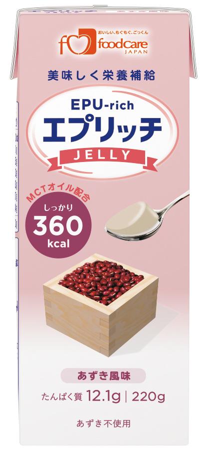 エプリッチゼリー あずき風味 220g