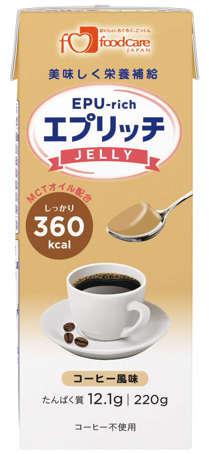 エプリッチゼリー コーヒー風味 220g