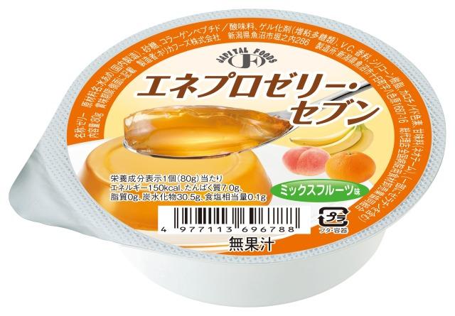 エネプロゼリーセブン ミックスフルーツ味 80g