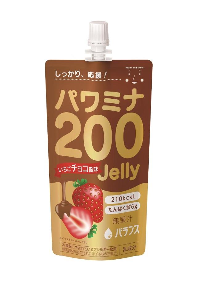 パワミナ200ゼリー いちごチョコ風味 120g×24