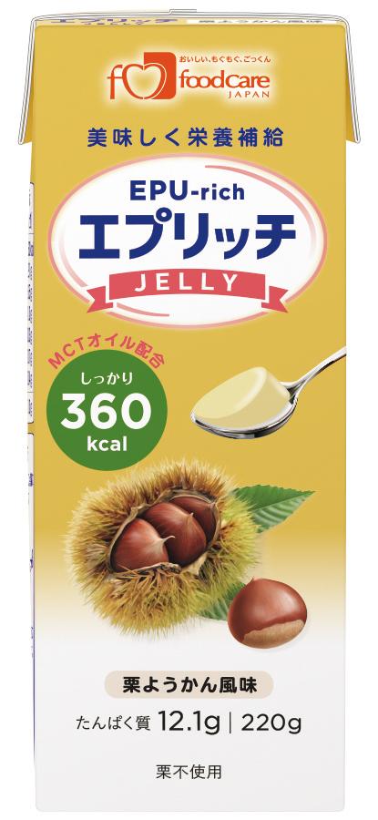 エプリッチゼリー 栗ようかん風味 220g