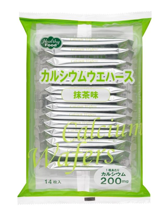 カルシウムウエハース 抹茶味 6.5g×14