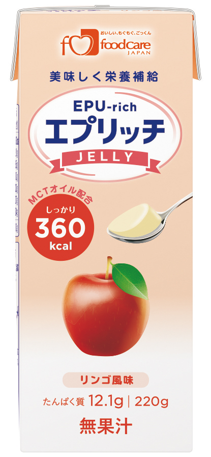 エプリッチゼリー リンゴ風味 220g