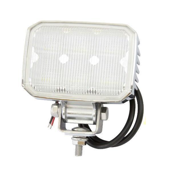 WL-11C LED6ワークランプ 角型 クロームメッキ 18W