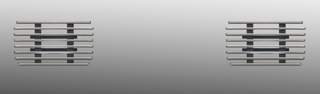 ビレットグリル(バンパーアッパー) GIGA