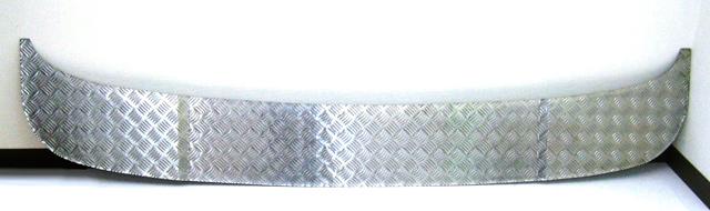ベストワンファイター標準バンパー/前出し用アルミ縞板