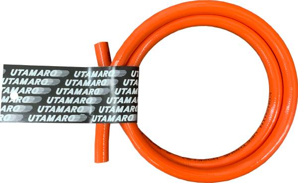 ウレタンホース/切売用1M 【オレンジ】内径6.5Ф/外径10Ф