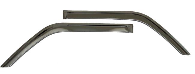 ステンレス ドアバイザー S200系ハイゼット(前期・後期)・サンバー・ピクシス