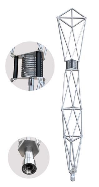 タワーアンテナ 【CB 27M帯専用】 129cm