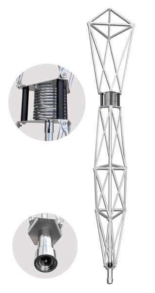 ワンセグ・フルセグ タワーアンテナ(ケーブル付) 129cm