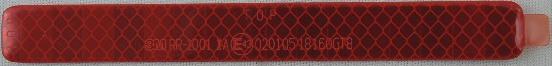 3M R3レフレクター RR-1001 1A 18160GT8 赤