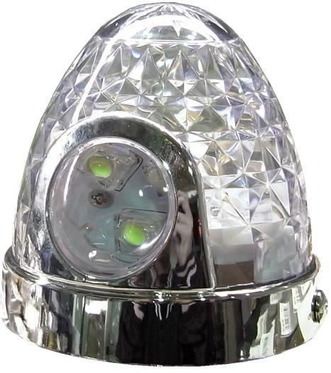 LED防水ツーウェイマーカープラス★BW-705 【レンズ:クリア】LEDレッド