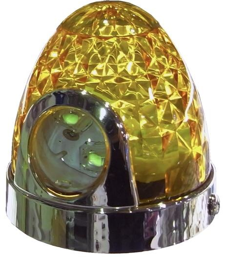 LED防水ツーウェイマーカープラス★BW-726 【レンズ:イエロー】LEDホワイト