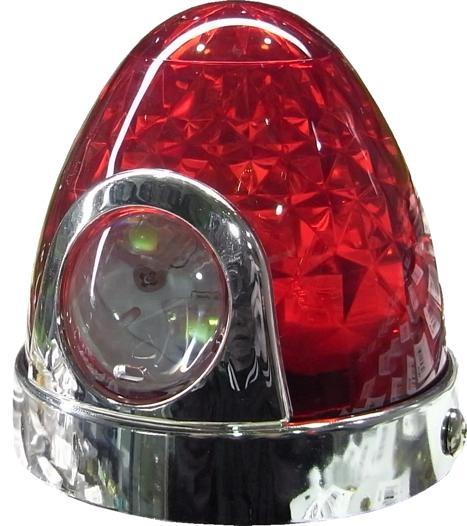 LED防水ツーウェイマーカープラス★BW-725 【レンズ:レッド】LEDレッド