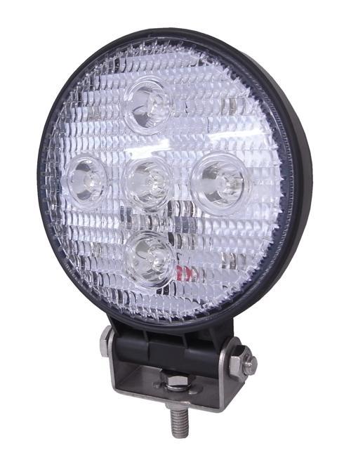 LSL-1008B LED作業灯(ワークランプ)丸型 12〜80V 7.5W
