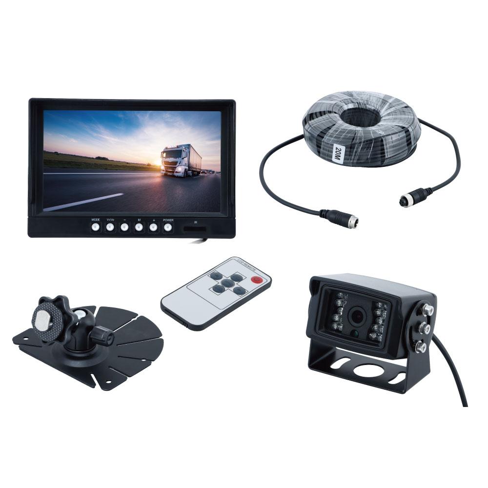 9インチIPSオンダッシュモニター&AHDバックカメラセット