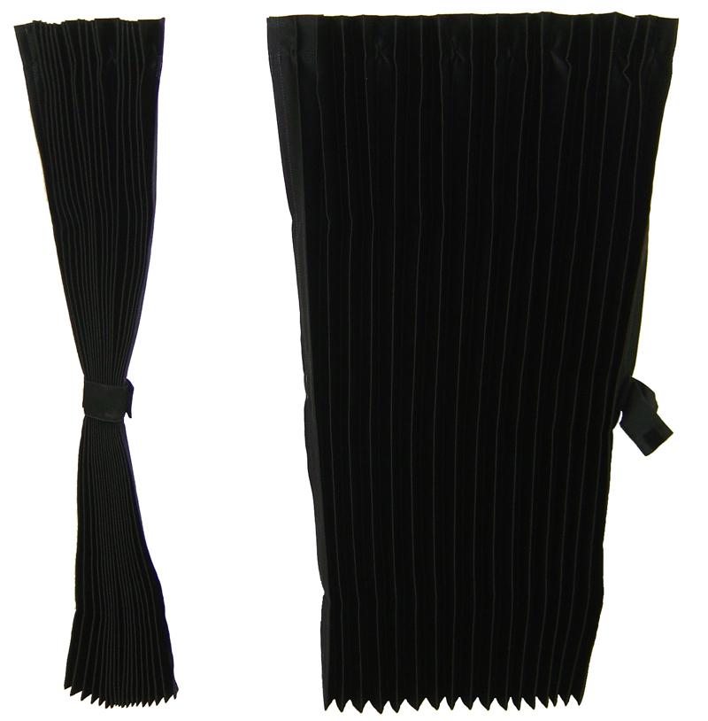 遮光カーテン★サンカット プリーツ 2点式センターカーテン(標準ルーフ用)