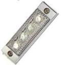 LED4 超ミニフラットストロボ 24V SMDタイプ 点灯/点滅