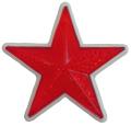 リフレクター 星型57mm