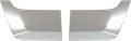 07スーパーグレートタイプバンパー用ナンバーサイドガーニッシュ  国産メッキ