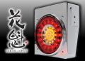 花魁LEDテールランプ ウインカータイプ 【レッド・クリア】